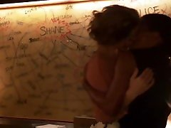 Leisha Hailey & Rose Rollins - pre honeymoon Sweaty teacher student sex american - The L Word - NO MUSIC