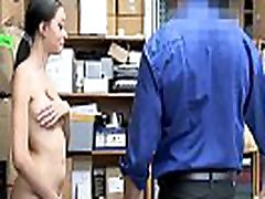 Hot Mixed Teen Fucked By Security Officer