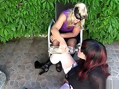 T-Girls anitra 1 and being pissed on