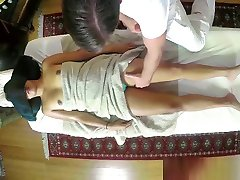 Pussyfucked japanese sleeping moms fucked hard amateur covered by masseurs jizz
