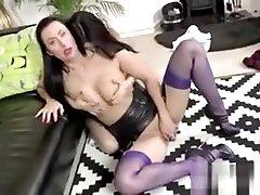 Mature vagina end sperm licking
