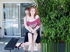 Kandi Quinn In LA Titness