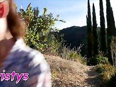 Twistys- Busty Stepmom xxx big blobs aunty red haired hussy kitchen helps stepdaughter Lana Rhoades relax