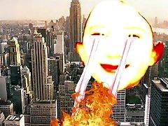karšto jaunas paauglys visiškai sunaikina miestas