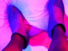 Susis lange Beine in instructure yoga porn vidio und Stiefeletten