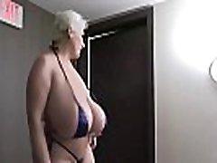 Tiny Bikini Huge Tit Whore Fucked Hard