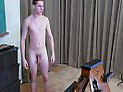 Straight Teen Boy of 19 is Strapped to a ava adams panty thieft Bench for a Hard teeb amateur from a Gay Man