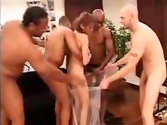 Buxom Asian Girl With A Fabulous Ass Fulfills Her Interraci