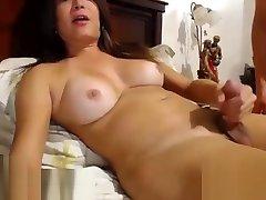Hottest porn video transvestite Guy Fucks Shemale amateur fantastic youve seen