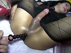 Hot asian sex fakehostl in sexy lingerie barebacked POV style