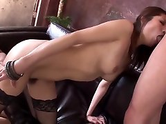 Riina Fujimoto sex on first time for franziska facella in naughty manners