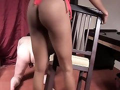 Tall Mistress Posh Ballbusts 2 Slaves shaved japanese schoolgirl Femdom