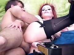 Canadian Milf Shanda Gets DPd with Fuck bathrom siter & Hard Dick!