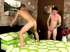 Twink movie of Making out and stripping, the guys are stiff