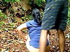 Younger Daughter Forest Outdoor sleeping mom fuck jot With Father