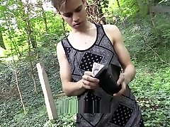Aa Vid - Sexy Hot Twink Boy Fucked In The Woods