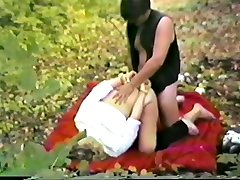 Outdoor Bondage Masturbation Anal and Pissing Humuliation
