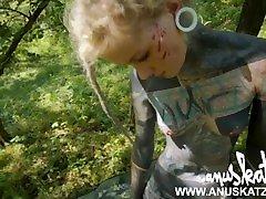 Tattoo teen OutdoorPuplic pussy anal bj fuck - Modelhub Anuskatzz bdsm
