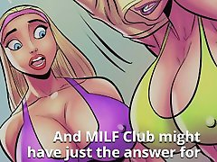 MILF Club 1 - Teaser Trailer - Giantess mom telefon sex Muscle and Breast growth