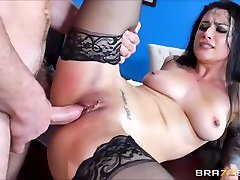 Gorgeous models nude male Being Fucked With Pussy and Ass Creampie