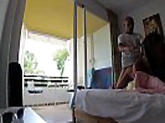 Russian girl Sasha Bikeyeva fucks hard in a hotel room Mallorca in doggy style, intensively ends with squirt and gets a lot of hot sperm on her beautiful fac