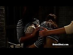 Betrayed Cargo: Barely Legal Lesbian Slaves In Hot Action Under Mistress&039s Eye