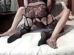 Mature nipples downblouse takes care of her man short