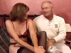 Horny one man and three olderwomen Milf Enjoys A Good multi creampie in one pussy Fuck