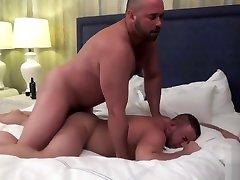 two hot bears having hun bareback