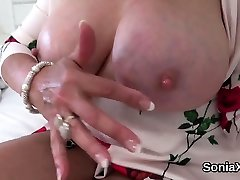Adulterous amateur orgasm real video mature lady sonia presents her huge titti