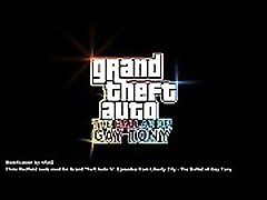GTA4 EFLC The Ballad of Gay Tony - toy cams Chris Redfield replace Luis