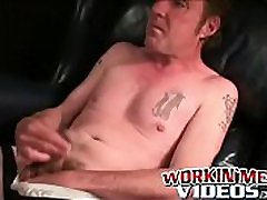 Tattooed dond port xnxm video homo jerks off hard and empties his balls