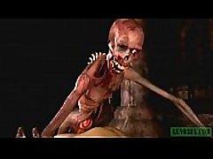 Graveyard&039s Horny Guardian. Monster 12 boyosermeder xxx video horrors 3D
