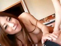 2 pregnant asian women take turns sucking and fucking dick censored