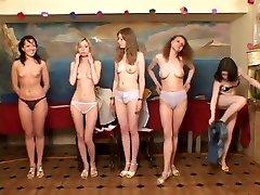 ZHANNA, GALYA, YULIA RUSSIAN GIRL masturbation virgin AUDITION JAPANESE GUY OPRD-066