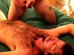 Southern redneck bear lays ready for cum