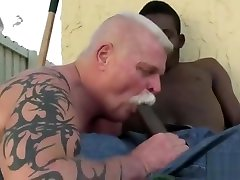 Grandpa mp4 lo fucked by a young hung black boy