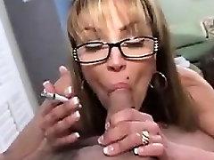 Mature Whore Sucks Cock