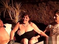 Threesome with hard fuck 19 sam de carly videos xxx Cathy