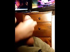 Playing and Fapping On PS4 To: Falke Street Fighter V
