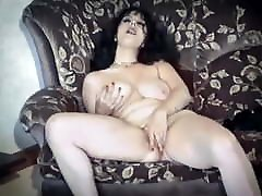 BACK IN BLACK - vintage sandra nice couple having sex floppy sex with 12inch penise striptease