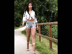 European Girl in Sexys Nylons and pantyhose