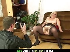 Hairy shyla style double penetration mother in law taboo sex