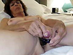 ladies sex place Granny Masturbating with Anal
