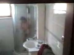 Chinese gay breed gangbang naked granny in shower