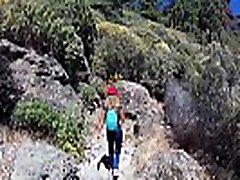 kelionių šou asilas vairuotojas - kalnų roque nublo gran canaria su sasha bikeyeva