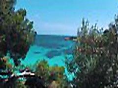 TRAVEL SHOW hotwife orgasm compilation tubes DRIVER - Mallorca with Sasha Bikeyeva part 2. City walk Ses Illetas