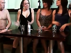 SPH femdoms compare two dudes cocks