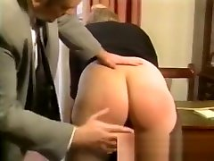 Bad Boss Punishes His Blonde Secretary porn tube mamu And Caning Her Soft Round Ass Cheeks