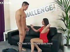 Pornstar fuck challenge ends with hot facial